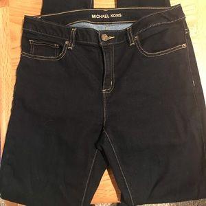 Michael Kors Izzy Skinny Dark Jeans - Size 8
